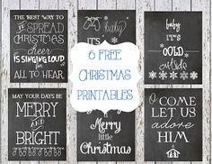 I Dig Pinterest: 20+ Fabulously Free Christmas Printables