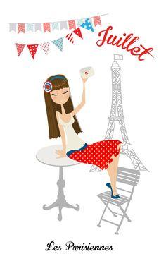 Les Parisiennes _ Juillet-01