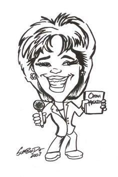 Caricature - Oprah! Oprah!