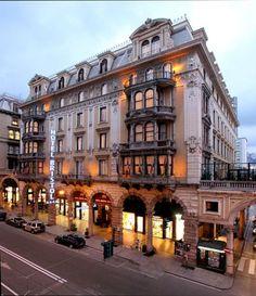 Bristol Palace hotel in Genoa Italy