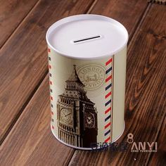 Big Ben London, Money Bank, Piggy Bank, Saving Money, Tin, Product Design, Gifts, Ebay, Clothes