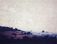 Sara Lee, 'The Crossing' woodblock and intaglio