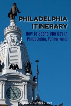 Rich in history and packed with sights, spending one day in Philadelphia, Pennsylvania is just enough time to see the city highlights – but only with a good trip plan! We created a perfect Philadelphia Itinerary that features must-see Philly sights and the best things to eat. Luxury Travel, Travel Usa, Travel Guides, Travel Tips, Travel Articles, United States Travel, Ultimate Travel, One Day, Travel Couple