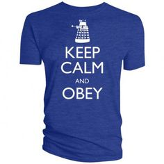T-Shirt KEEP CALM AND OBEY