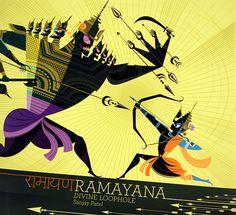 Artist and veteran Pixar animator Sanjay Patel illustrates a gorgeous children's book about indian mythology
