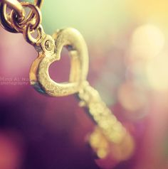 You Own the Key of my Heart Bokeh Photography