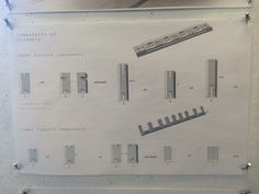 Assembly components for span model #48105