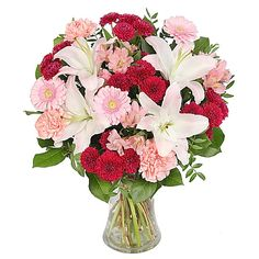 cool Yummy,  Calgary Flowers - New Bouquet Yummy by Calgary Flowers Sweet, fancy and yummy with lashings of pink delight and lovely floral treats!  ,  http://sendflowerstocalgary.com/product/yummy/, 84.95