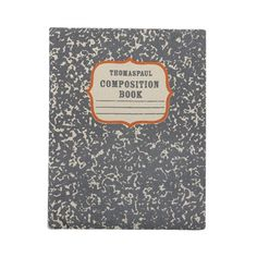 composition book iPad case