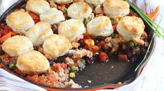 Turkey Chili Pot Pie