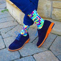 Soxy designed socks. http://www.soxy.com/