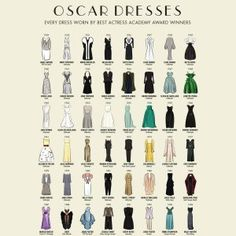 A Visual History of Oscar Best Actress Winners' Gowns Since 1929