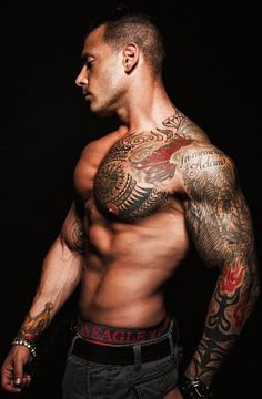 Nice sleeve with one side of chest cover. I want to do this in the next couple years.