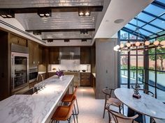 Dream home wish list: Skylight in the kitchen.