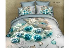 Cheap king queen size, Buy Quality bedding sets directly from China bedding set Suppliers: Ywxuege Flower Reactive Printing Bedding Set Queen Size Duvet/Comforter Cover Bedsheet Bed cover 3d Bedding Sets, Cotton Bedding Sets, Bedding Sets Online, Bed Linen Sets, Bed Sets, Crib Sets, Cotton Duvet, Baby Bedding, Comforter Sets