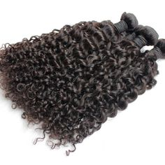 Curly Brazilian Virgin Hair Weave No Tangle No Shedding High Grade Unprocessed Off Black | Wholesale Hair Extension Factory