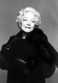 "Helen Hayes, 1978. ads for Blackglama mink coats.  ""What becomes a legend most?""......Uploaded By www.1stand2ndtimearound.etsy.com"