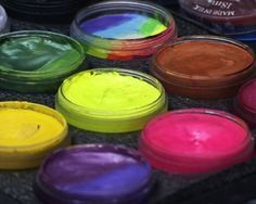 Homemade Face Paint - Recipes For Home Made Face Paint