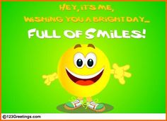 (Feb 8) Hey it's time to make your loved ones #smile! With our #funny, colorful, animated ecards make them feel special!