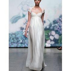 schönes Brautkleid mir feiner Spitze