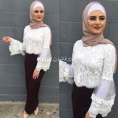How to wear pencil skirts with hijab – Just Trendy Girls Modern Hijab Fashion, Islamic Fashion, Abaya Fashion, Fashion Line, Muslim Fashion, Modest Fashion, Fashion Dresses, Hijab Evening Dress, Hijab Dress Party