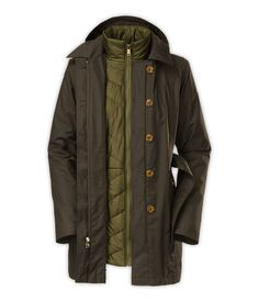 The North FaceWomen'sJackets & Vests3-in-1 JacketsWOMEN'S RIVERDALE TRENCH TRICLIMATE® JACKET