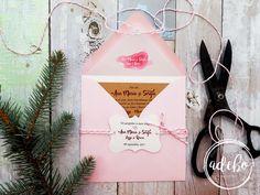 Pentru persoanele care sunt in cautarea unor invitatii de nunta tiparite pe carton special kraf, plic roz deschis si interior plic personalizat cu numele mirilor si data marelui eveniment + eticheta personalizata, recomandam modelul de Invitatie nunta Leyla.