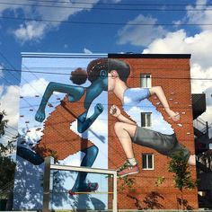 A New Mural by Seth Globepainter on the Streets of Montreal  http://www.thisiscolossal.com/2015/08/a-new-mural-by-seth-globepainter-on-the-streets-of-montreal/