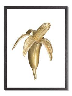 En frekk banan i gull. Intet mer, intet mindre.
