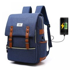 1641f09c1f Laptop Backpack with USB Charging Port