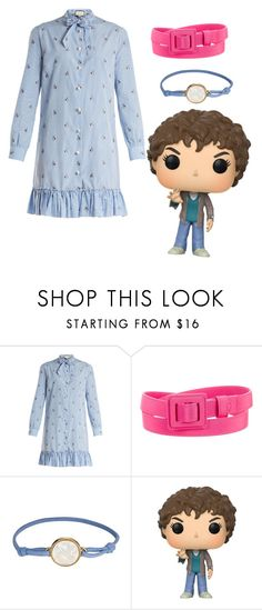 """""""Eleven Snowball"""" by eleven-and-her-eggos ❤ liked on Polyvore featuring Gucci, Carolina Herrera, Asha by ADM and Funko"""