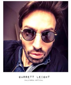 Anthony Cerato with #GarrettLeight glasses. @GarrettLeightCaliforniaOptical