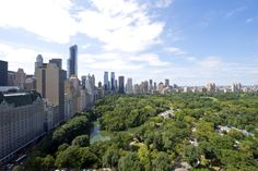 The Pierre, A Taj Hotel, New York offers some of the city's best over Central Park. Nyc Hotels, Luxury Accommodation, Rental Property, Central Park, San Francisco Skyline, New York, Take That, London, World