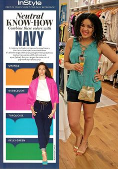 Nuetral Know-How: Navy + Turquoise