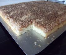 Buttermilchkuchen mit Nuss ( schnell und einfach)
