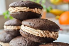Hungarian Desserts, Hungarian Recipes, Sweets Recipes, Cookie Recipes, Christmas Snacks, Whoopie Pies, Aesthetic Food, Food Cakes, Cake Cookies