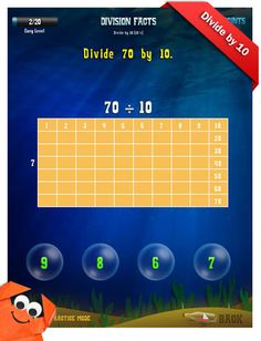 Division Apps - Third Grade Math Apps