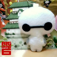 Chibi ver. of Baymax from Big Hero 6