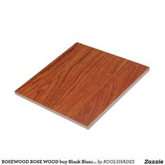 ROSEWOOD ROSE WOOD buy Blank Blanche add TEXT Ceramic Tile
