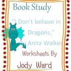 "This is a set of worksheets for the classroom designed to compliment the book ""I Don't Believe in Dragons"" By Anna Walker.  The non-specific activit..."