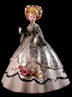 """Vintage Josef Originals figurine - """"Melanie"""" - From the '1850 Antebellum Girls' series. From my own private collection."""