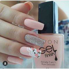 pretty french nails nagel winter and christmas nails art designs ideas 31 Cute Nail Designs, Acrylic Nail Designs, Acrylic Nails With Design, Square Nail Designs, Beautiful Nail Designs, Beautiful Nail Art, Diy Nails, Cute Nails, Pretty Nails