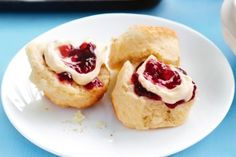 Vanilla buttermilk scones