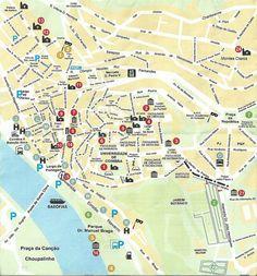 Mapa de Coimbra