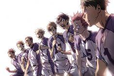 Haikyuu!! (ハイキュー!!) - Shiratorizawa Academy (白鳥沢学園高校)