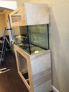 90 Gallon Reef Tank Build New to the Hobby Aquarium Hood, Aquarium Design, Fish, Building, Home, Pisces, Buildings, Ad Home, Homes
