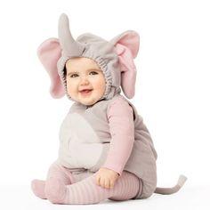 b17c5283bbea2 Little Baby Elephant Halloween Costume First Halloween Costumes