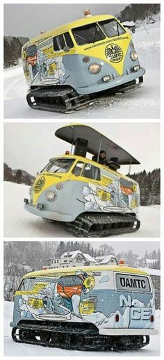 What CAN'T you do with a VW Bus?