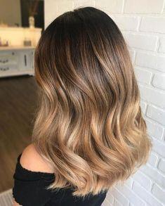 Hot Hair Colors, Ombre Hair Color, Hair Color Balayage, Cool Hair Color, Brown Hair Colors, Hair Highlights, Ash Balayage, Balayage Hair Light Brown, Balayage Hair Brunette Medium