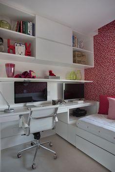 Um lar de 70 m² ideal para pai e filha
